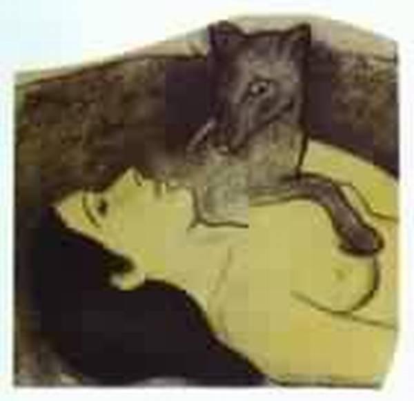 Study for la perte de pucelage the loss of virginity 1890